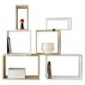 Petit Module pour bibliothèque / étagère Stacked blanc