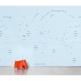 """Papier peint """"Océan"""" par Ich et Kar sur LaCorbeille.fr"""