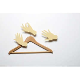 Hook hands by Leslie David