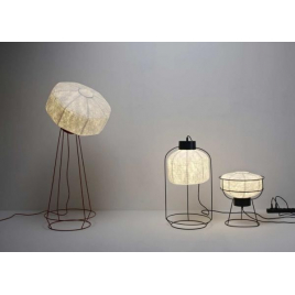 Cage Lamp in black - design Arik Levy