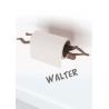 Porte papier-toilette Walter de la collection Coup d'Pouce design Thibault Pougeoise sur LaCorbeille.fr