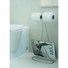 Porte-papier toilette Loo Read de la marque Black & Blum sur LaCorbeille.fr