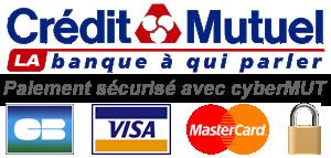 Logo Cybermut - Paiement sécurisé