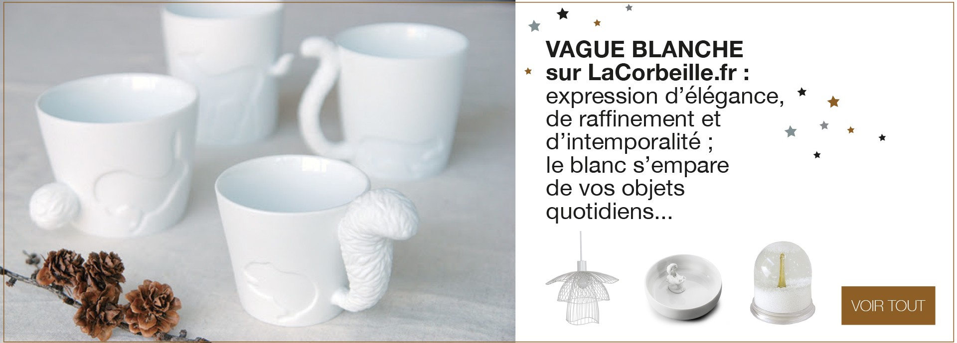 White wave on LaCorbeille.fr
