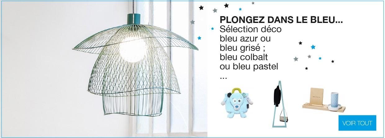 1000 nuances de bleu sur LaCorbeille.fr