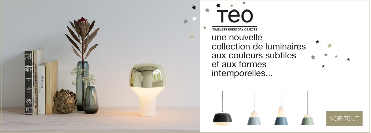 Collection de luminaires TEO - Timeless Everyday Objects