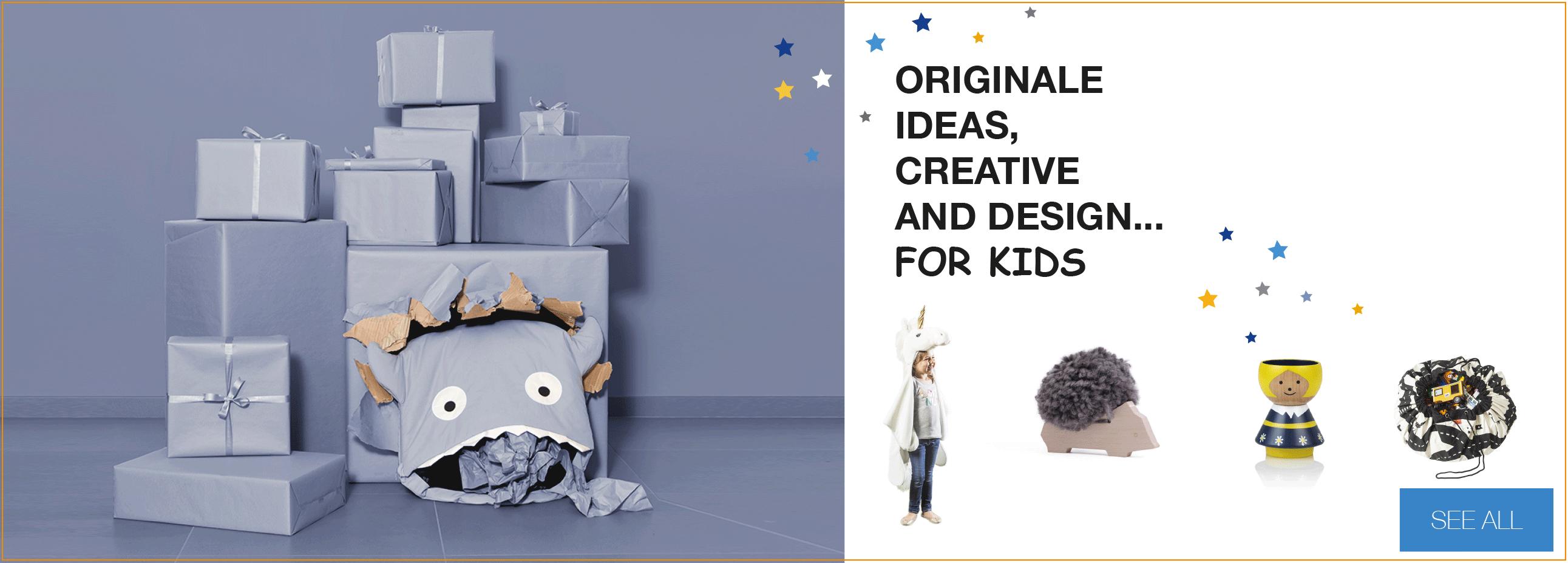 Original gift ideas for KIDS