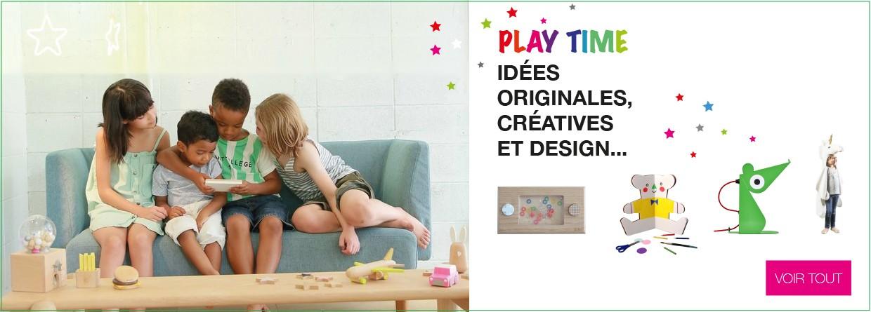 Sélection jeux et jouets originaux et créatifs