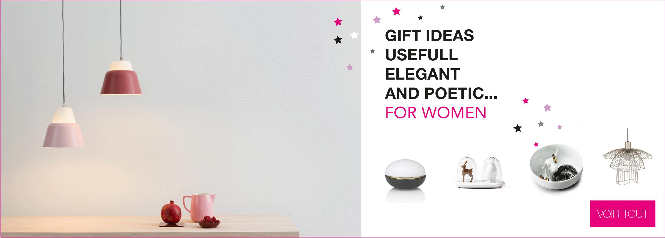 Gift Ideas for women - Christmas 2017