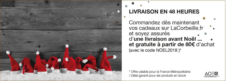 Livraison en France 48h offerte à partir de 80€ de commande